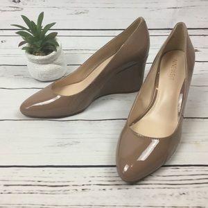NWOB Nine West Wedge Shoes, Size 8